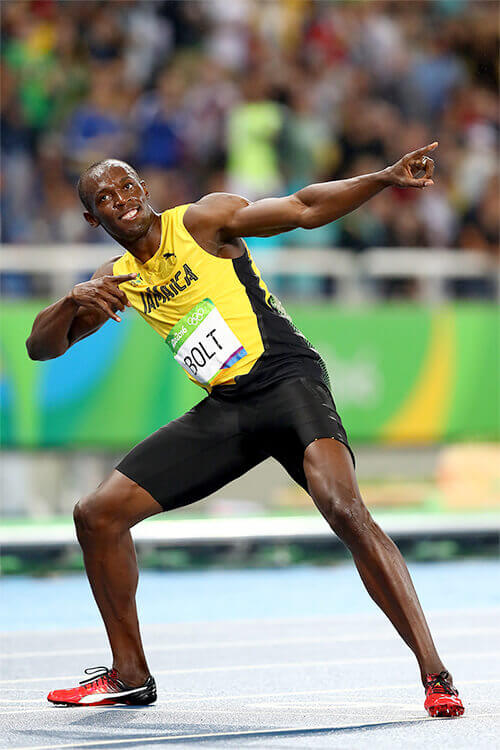 usain bolt is xm and xm is usain bolt